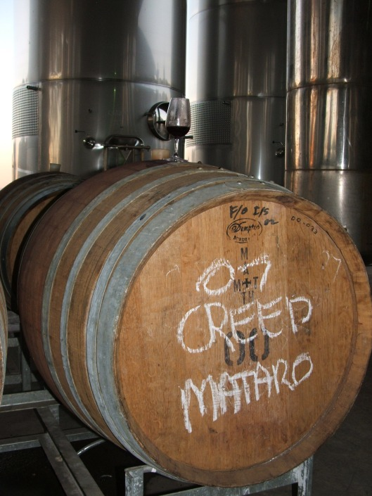 Creed barrel