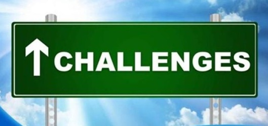 challenges sign